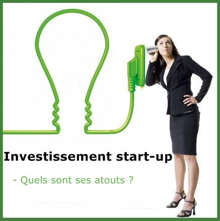 investir dans une start up